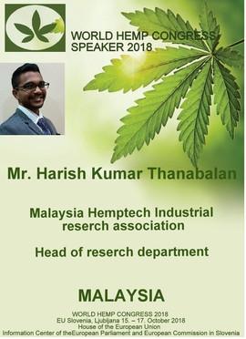 WHC18 - Mr. Harish Kumar Thanabalan - Ma