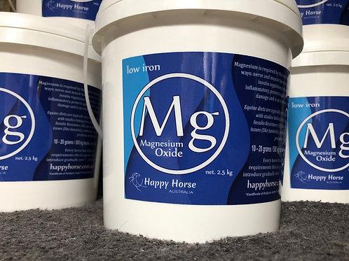 LOW IRON Magnesium Oxide powder