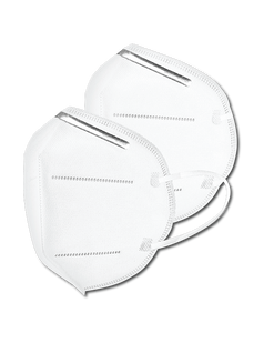 KN95 White Mask FDA Approved BFE ≥ 95% to 99%
