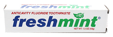 1.5 oz. Freshmint Fluoride Toothpaste (i