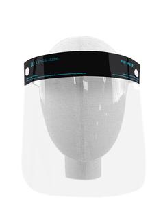 "Black Clearshields Anti-Fog 13""x 8.6"" PET/PU"