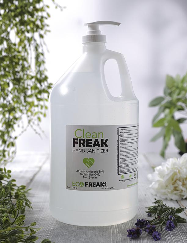 Clean Freak Hand Sanitizer Orange Scent 1 gal. comes in Pump, Flip or Screw Top