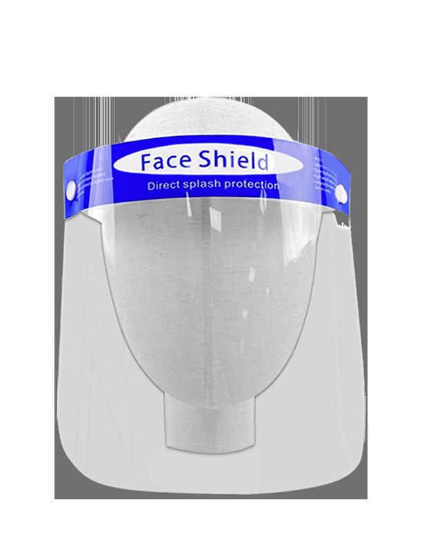 "Clearshields Face Shield Anti-Fog 13"" x 8.6"" PET/PU"