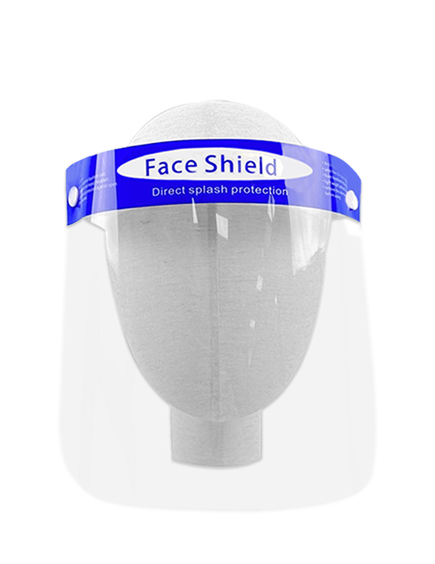 "Clearshields Face Shield Anti-Fog 13"" x 8.6"" PET/PU"