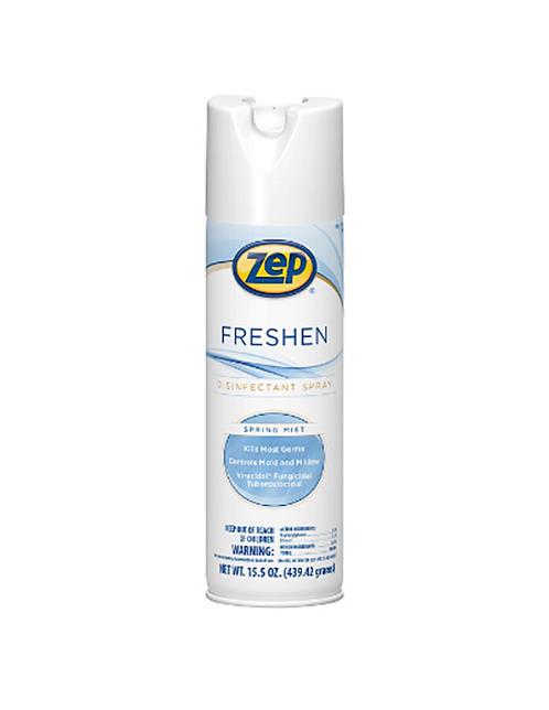 Zep Freshen Disinfectant Spray Spring Mist 20 fl. oz. 12 pieces per case