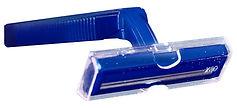 Twin Blade Razor (navy handle) Bulk Pack