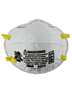 3M™ Particulate Respirator 8210 N95 Cup Style 20 pcs per box Made in USA