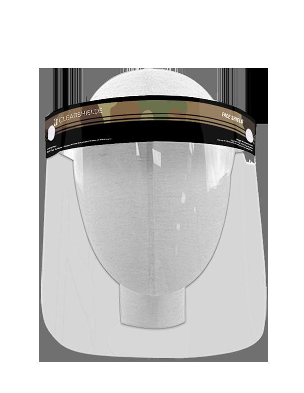 "Camo Clearshields Anti-Fog 13"" x 8.6"" PET/PU"