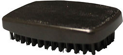 Block Handle Hairbrush (military style)