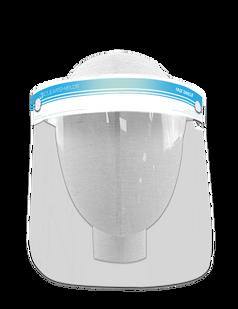 "Light Blue Clearshields Anti-Fog 13"" x 8.6"" PET/PU"
