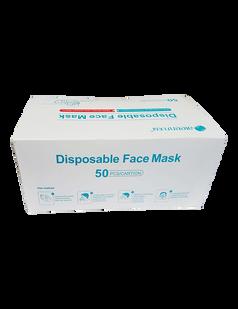 Aleen 3 Ply Disposable Medical Face Mask 50 pieces per box