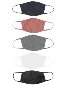2 Ply Reusable Cotton Face Mask Available in S/M or M/L 72 pcs. per pack