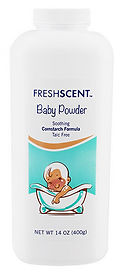 14 oz. Freshscent Talc Free Baby Powder