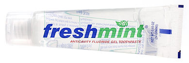 .85 oz. Freshmint Clear Gel Toothpaste.j