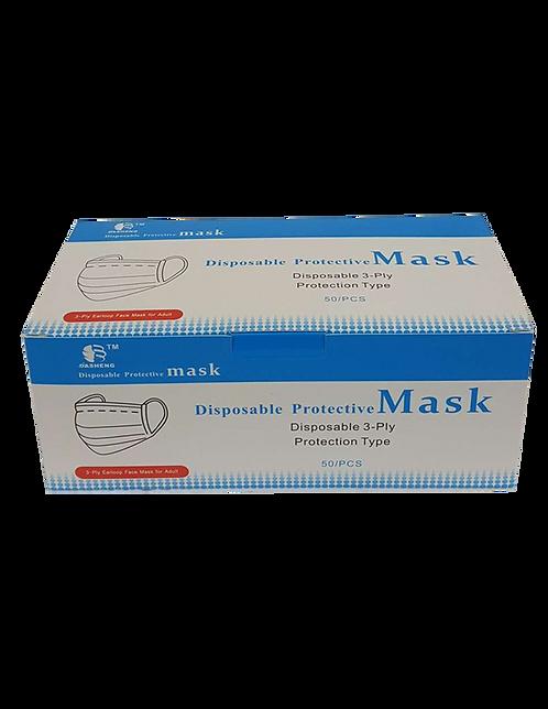Dasheng 3 Ply Disposable Medical Face Mask FDA Approved 50 pieces per box