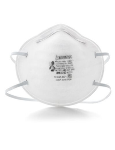3M™ Particulate Respirator 8200 N95 Cup Style 20 pcs per box Made in USA
