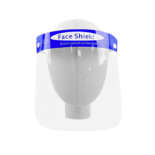 "Clearshields Face Shield Anti-Fog 13"" x 8.6"" Droplets and Splash Protection"