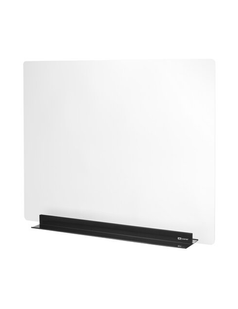 """Quartet Acrylic Sneeze Guard Clear Barrier 24"""" x 30"""" with Metal Base"""
