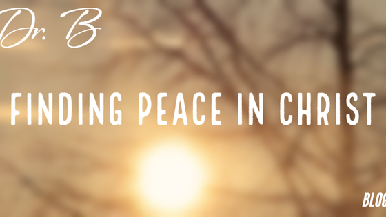 Finding Peace in Christ