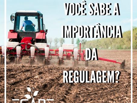 Regulagem de semeadoras