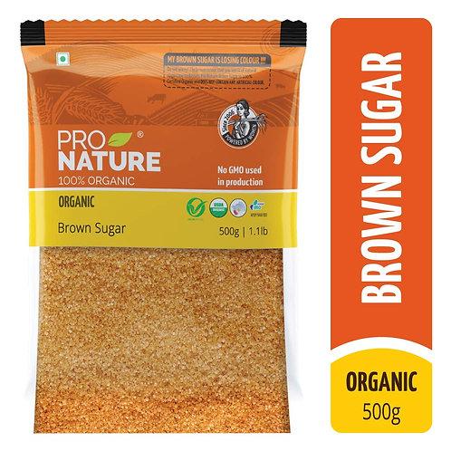 Pro Org Brown Sugar 500g