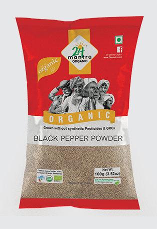 24 Mantra Organic Black Pepper Powder 100g