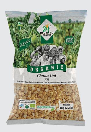 24 Mantra Organic Chana Dal 500g