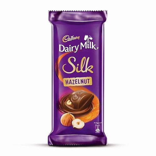 Cadbury Dairy Milk Silk Hazelnut Chocolate Bar 58g