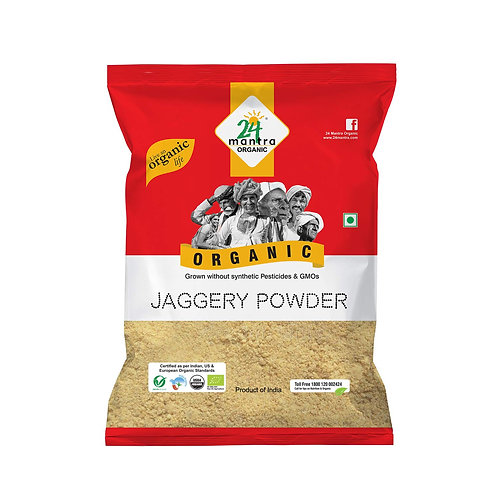 24 Mantra Organic Jaggery Powder 500g