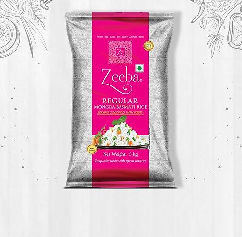Zeeba Regular Mongra Basmati Rice 10kg