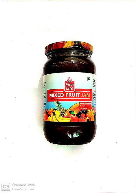 Fine Life Mix Fruit Jam 500g (Buy One Get One)