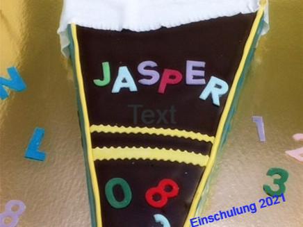 Einschulungstorte Jasper