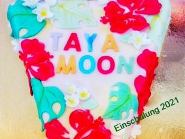 Einschulungstorte Taya Moon