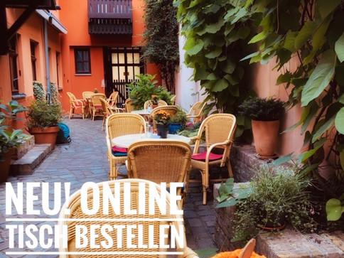 Café Reservierung online