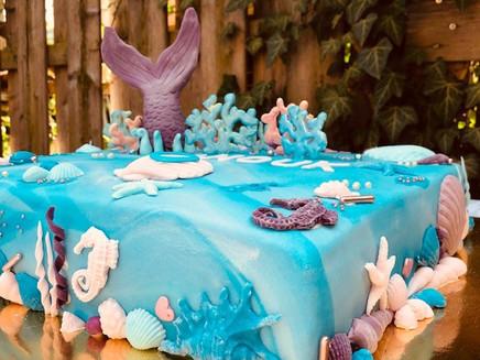 Geburtstagstorte Anouk - Unterwasserwelt