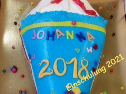 Einschulungstorte Johanna