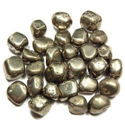 Pyrite (fool's gold) Tumble Stone