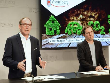 Land Vorarlberg präsentiert Aktionsplan Klimawandelanpassung 2020