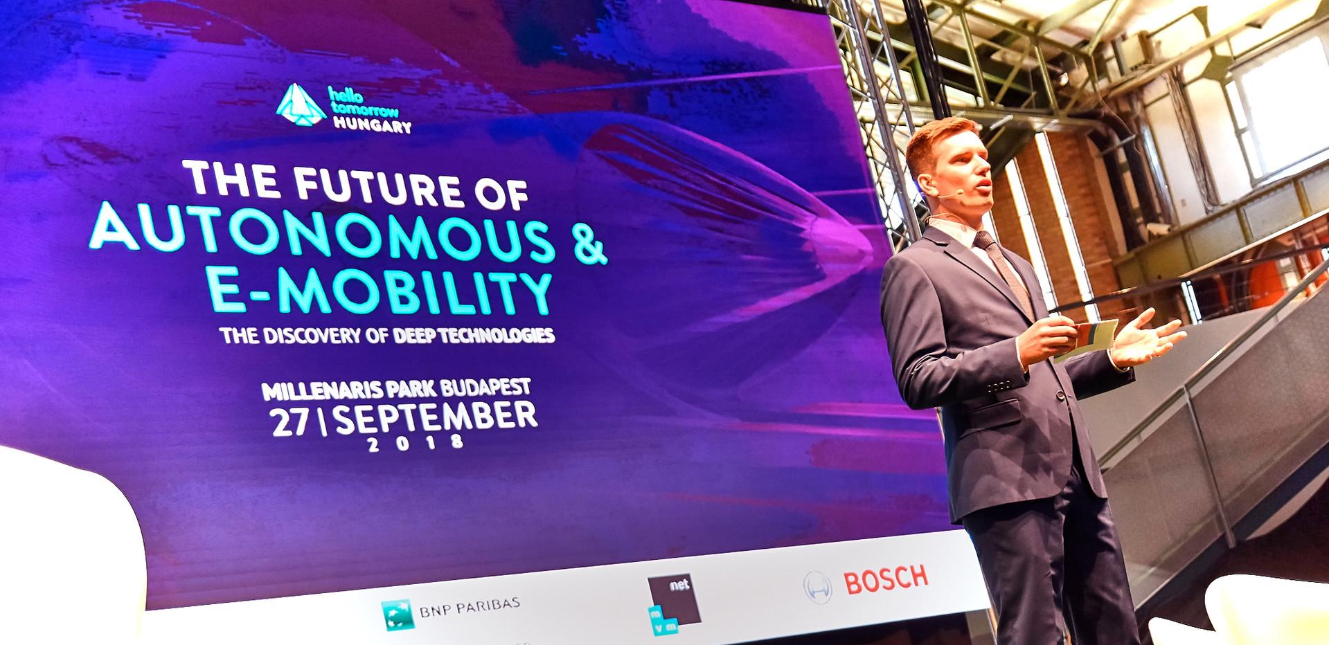 THE FUTURE OF AUTONOMOUS & E-MOBILITY