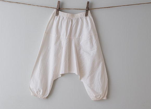 BAYA - HAREM PANTS - WHITE
