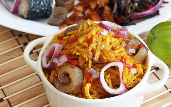 Chez Afrique Colchester Jollof Rice