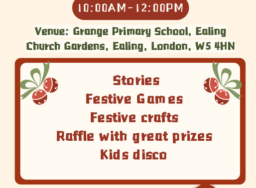 Giggling Panda Chinese School Christmas Family Event on Saturday 7 Dec 2019
