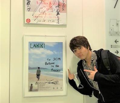 文化放送7階にポスター!!