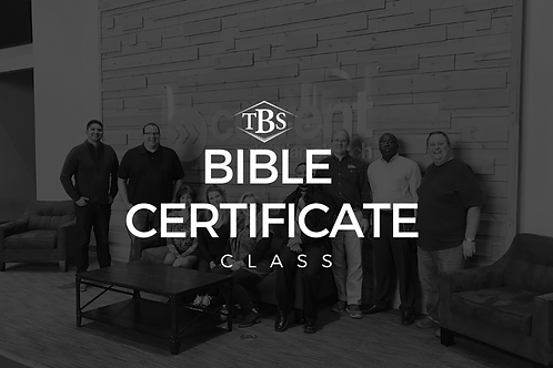 Fall 2021: Bible Panorama at Main Campus in Katy, TX
