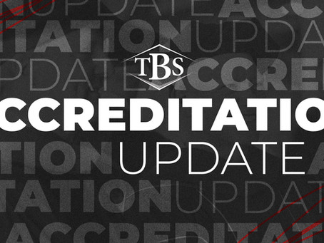 TBS ACHIEVES ACCREDITED STATUS