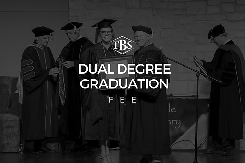 Dual Degree Graduation Fee