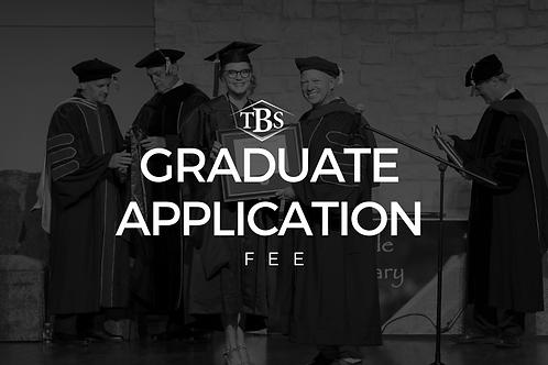 Graduate Application Fee