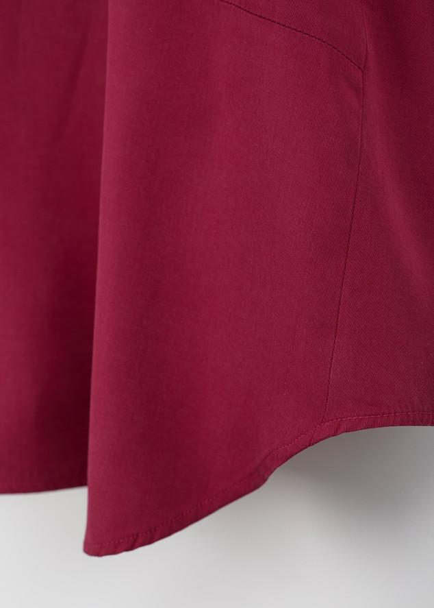 A • Blouse _an angle sleeve - raspberry 5.jpg