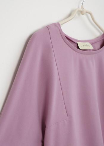 A • Shirt _an angle sleeve - lilac pink 1.jpg