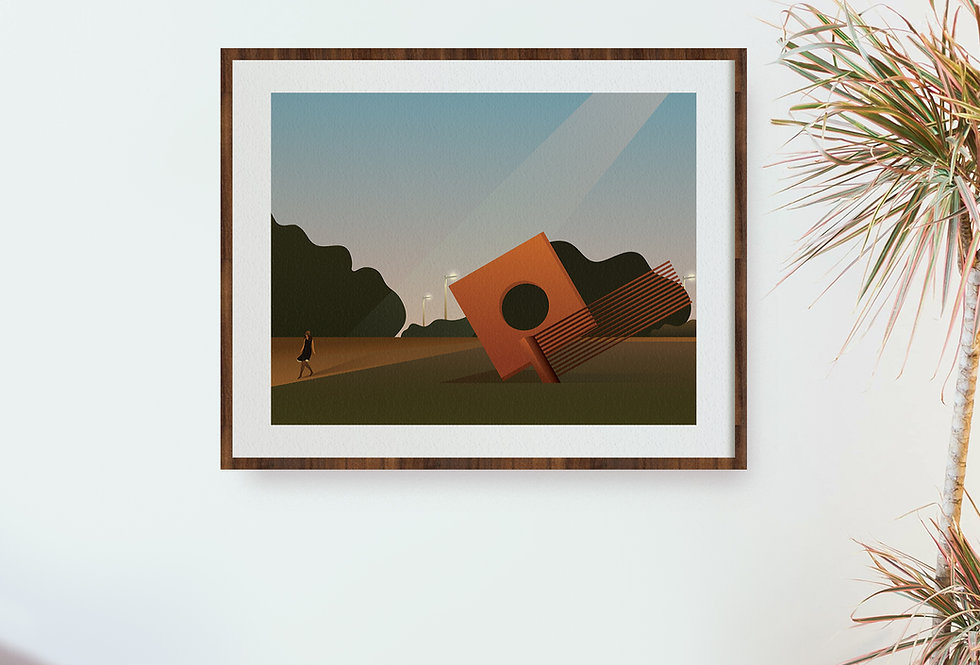 Post Covid Sunset